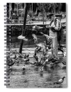 For The Birds Bw1 Spiral Notebook