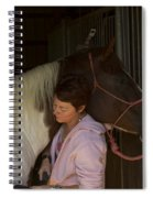 For The Love Of A Horse Spiral Notebook