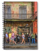 For The Love Of Jazz Spiral Notebook