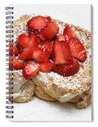 For The Love Of Strawberries Spiral Notebook