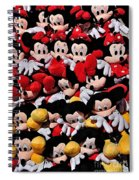 For The Mickey Mouse Lovers Spiral Notebook