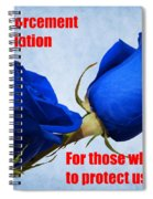 For Those Who Serve Spiral Notebook