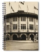 Forbes Field Pittsburgh 1909 Spiral Notebook