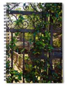 Forbidden Garden Spiral Notebook