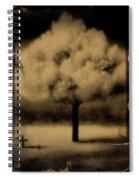 Forbidding Shadows Spiral Notebook