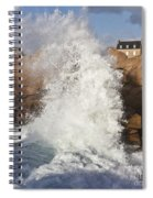 Force Of Breaking Waves Spiral Notebook