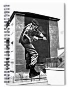 Forced Entry Derry Mural Spiral Notebook