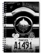 Ford 4 Spiral Notebook