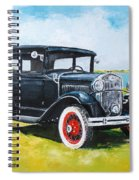 Ford A Tudor Sedan Spiral Notebook