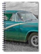 Ford Fairlane  7d05219 Spiral Notebook