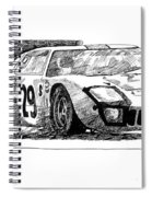 Ford Gt - 40 Spiral Notebook