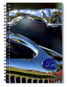 Ford Hood Ornement Spiral Notebook