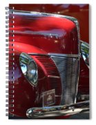 Ford Hotrod Spiral Notebook