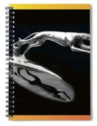 Ford Lincoln Greyhound Mascot Spiral Notebook