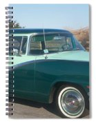 Ford Mercury Spiral Notebook