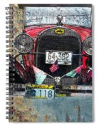 Ford Model A 1928 Oldtimer Spiral Notebook