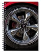 Ford Mustang Fastback Spiral Notebook