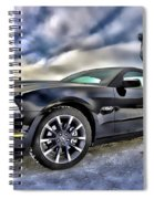 Ford Mustang - Featured In Vehicle Eenthusiast Group Spiral Notebook