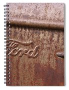 Ford Name Plate Spiral Notebook