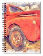Ford Panel Truck Spiral Notebook