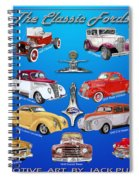 Another Ford Poster Spiral Notebook