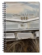 Ford Tail Lights 2 Spiral Notebook