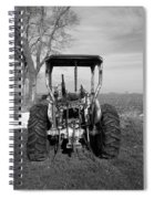 Ford Tractor Rear View Spiral Notebook