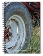 Ford Tractor Tire Spiral Notebook