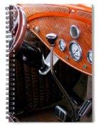 Ford V8 Dashboard Spiral Notebook