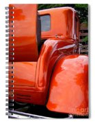 Ford V8 Rear View With Rumble Seat Spiral Notebook