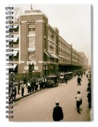 Ford Work Shift Change - Detroit 1916 Spiral Notebook
