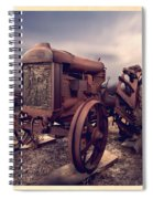 Fordson F Tractor Spiral Notebook