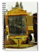 Fordson Tractor Plentywood Montana Spiral Notebook