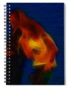 Foreigner-ga17-fractal Spiral Notebook