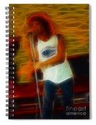 Foreigner-lou-gc13-fractal Spiral Notebook