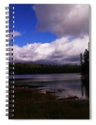 Forest And Clouds Spiral Notebook
