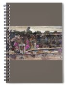 Forest Behind Temples  Spiral Notebook