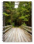 Forest Bridge Spiral Notebook
