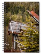 Forest Coveyor Spiral Notebook