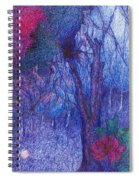 Forest Flower Spiral Notebook