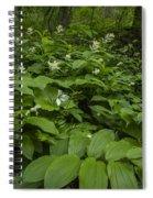 Forest Flowers Spiral Notebook