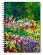 Forest Garden Spiral Notebook