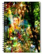 Forest Goddess 4 Spiral Notebook