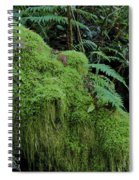 Forest Greenery Spiral Notebook