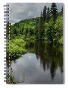 Forest Lake - Quebec - Canada Spiral Notebook