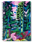 Forest Path In Summer Spiral Notebook