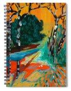 Forest Path Miniature Spiral Notebook