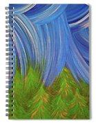 Forest Rain By Jrr Spiral Notebook