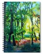 Forest Scene 1 Spiral Notebook