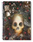 Forest Skull Pop Art Spiral Notebook